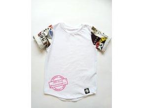 tričko PICTURE white