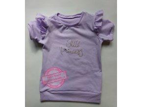 tričko lila Little Princess