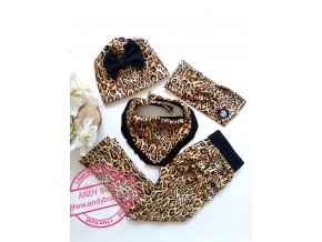 čepice gepard hnědý