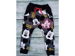 baggy Mickey Mouse šedé