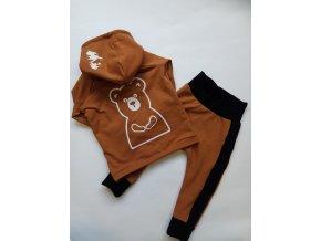 mikina/kabátek bear karamel - Karpaty