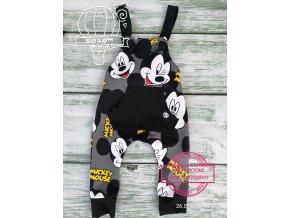 laclíky  Mickey Mouse šedé