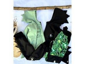 Soft kalhoty černé - rostoucí