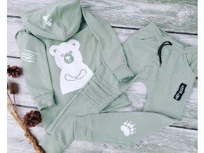 mikina/kabátek bear hraskova - Karpaty na zip
