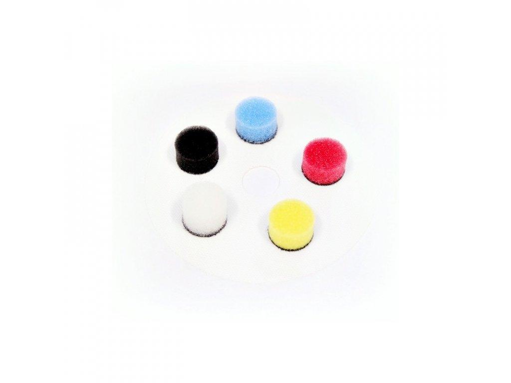 nat zestaw gabek polerskich nano polisher 16mm