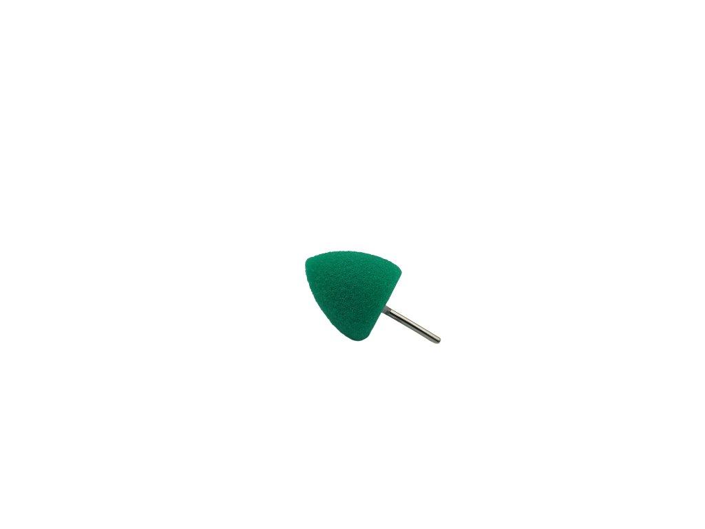 Leštiaci kužel - zelený