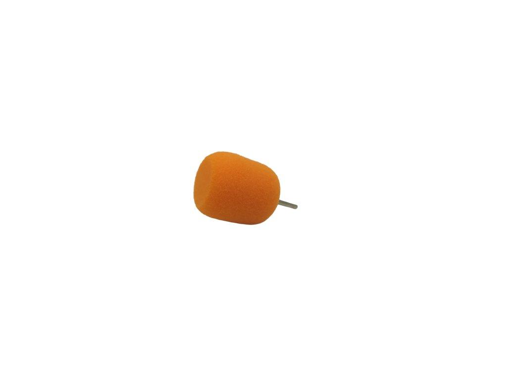 Leštiaci valec - oranžový