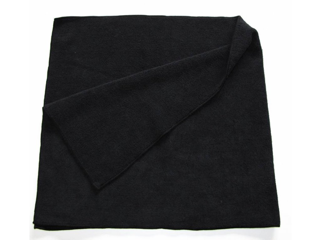 microfibre cloth maxi black 40 x 85 cm