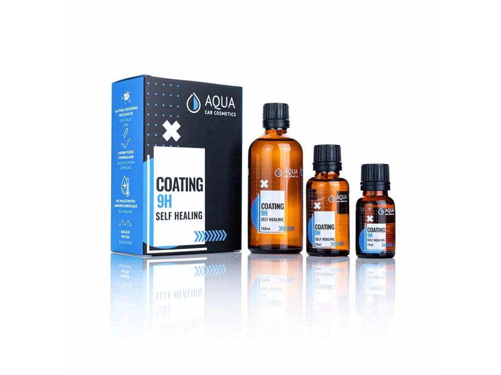 Aqua Car Cosmetics - 9H, keramická ochrana laku s vlastnosťou self-healing