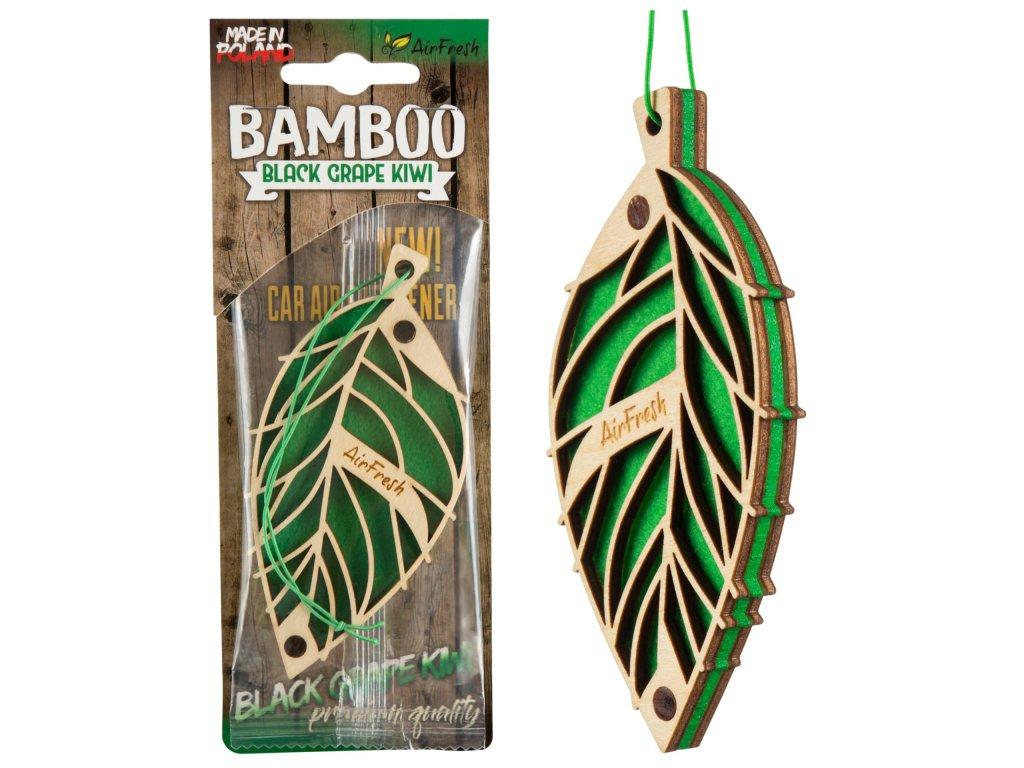 60001001 vune do auta bamboo black grape kiwi airfresh
