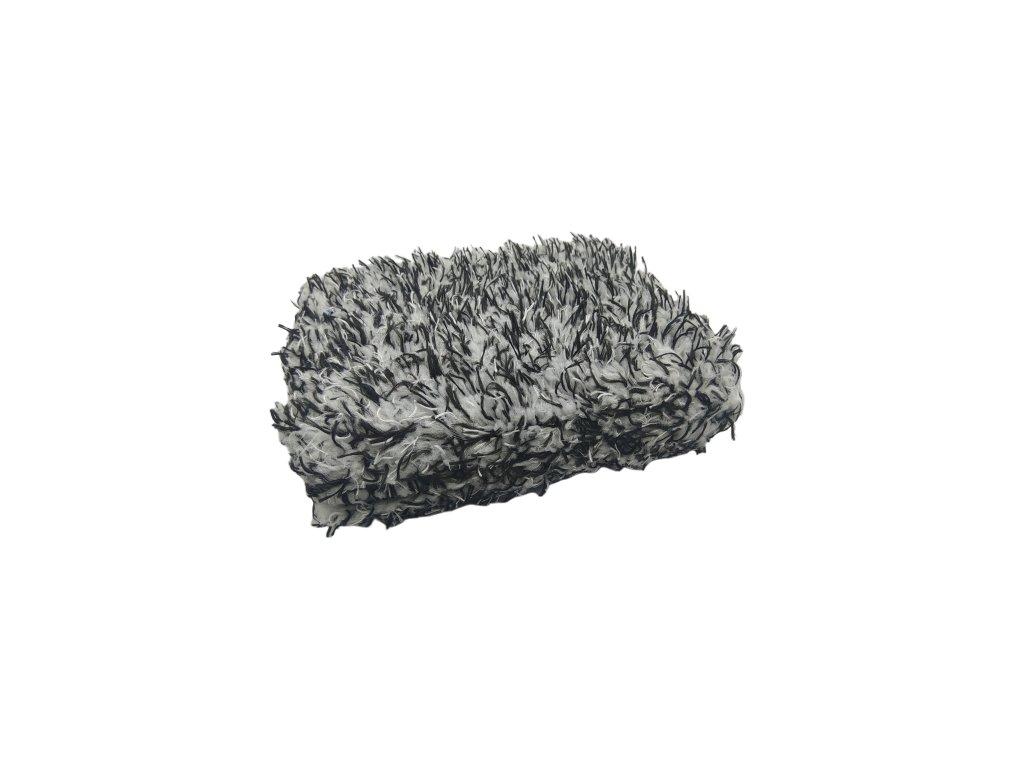Mikrovláknová špongia, čierna