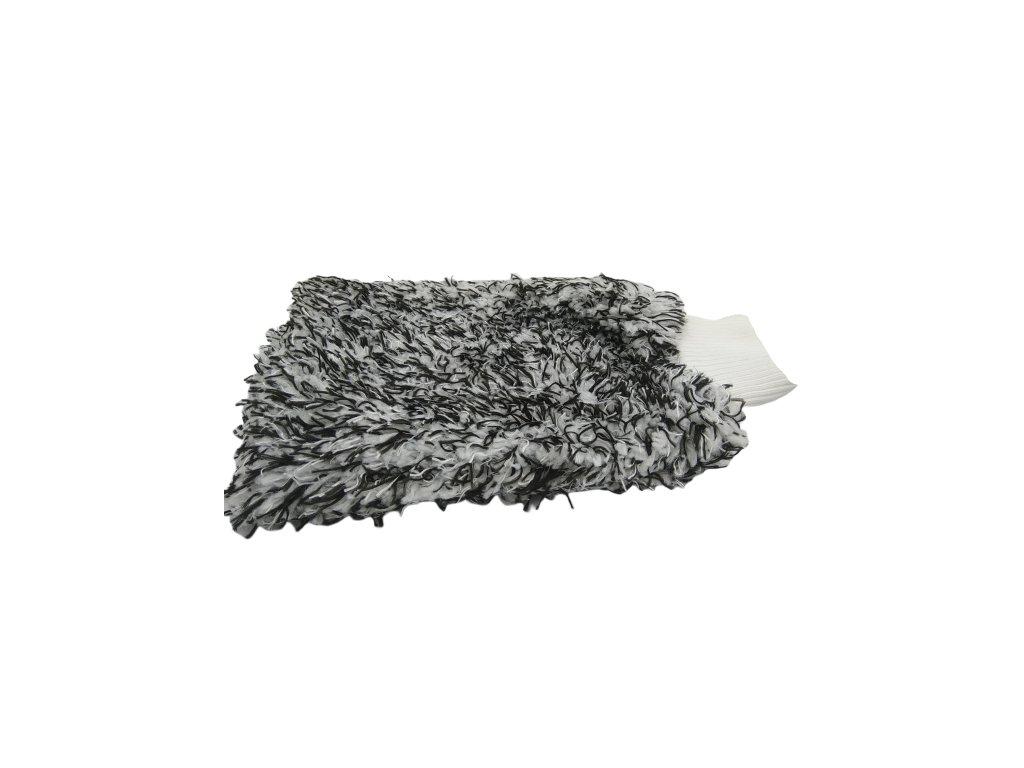 Mikrovláknová rukavica, čierna