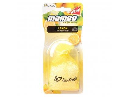 52730 Vune do auta AirFresh MAMBO BLISTER Citron Autosolcz