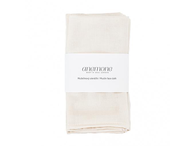 anemone muselinovy uteracik muslin cloth 2