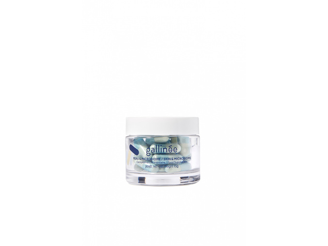 gallinee skin and microbiome supplements beauty kapsule blue