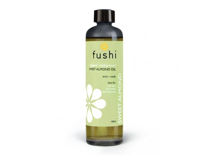 fushi organic sweet golden almond oil bio mandlovy olej new