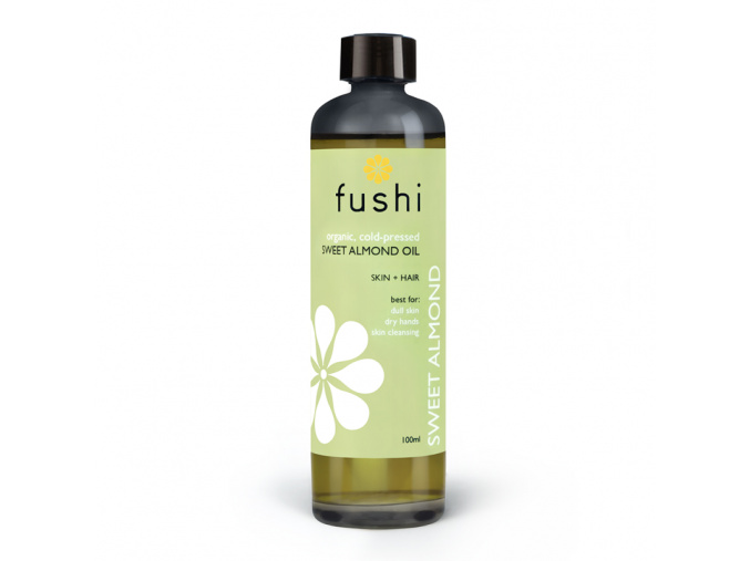 fushi organic sweet golden almond oil bio mandlovy olej new
