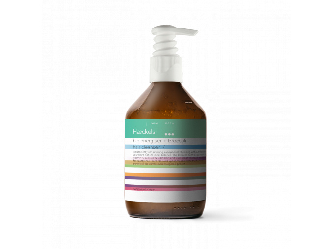 haeckels bio energizer broccoli hair cleanser šampon