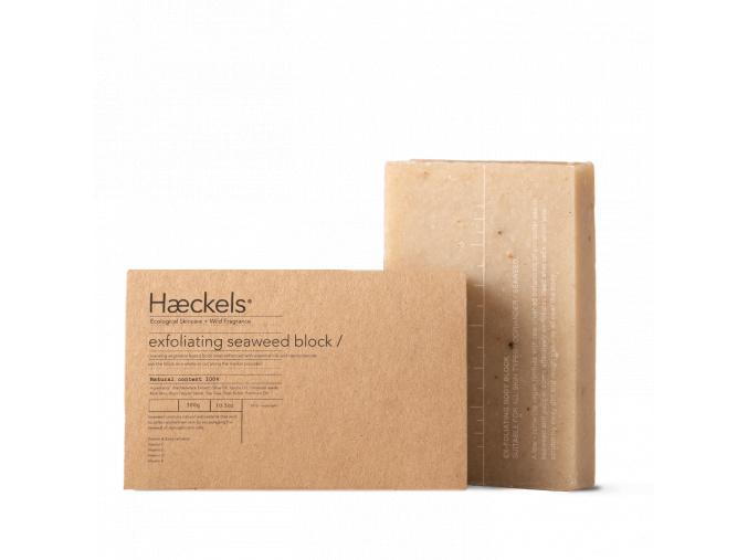haeckels large exfoliating vegan seaweed block velke exfoliacne mydlo s morskymi riasami