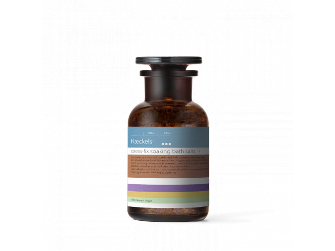haeckels stress fix soaking bath salt relaxacna sol do kupela