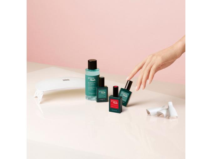 manucurist green flash gel nail polish full kit set na gelovu manikuru 1