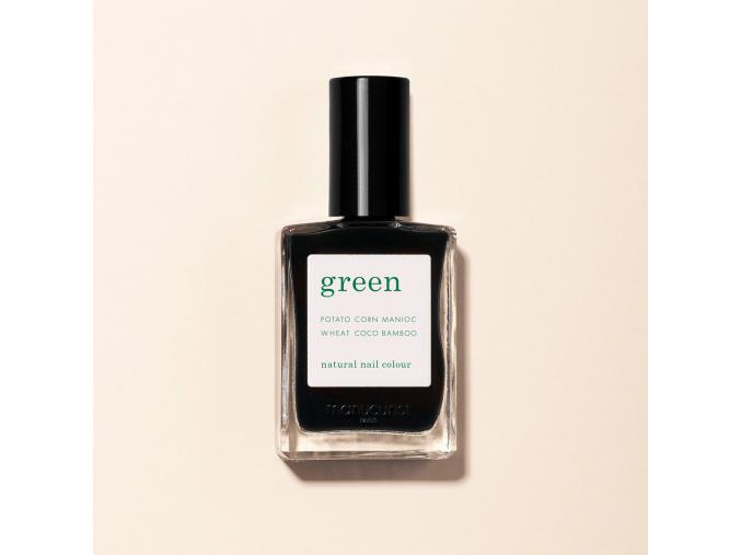 manucurist green nail polish lak na nechty licorice