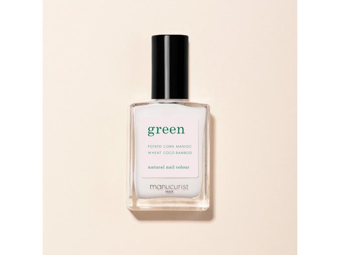 manucurist green nail polish lak na nechty snow