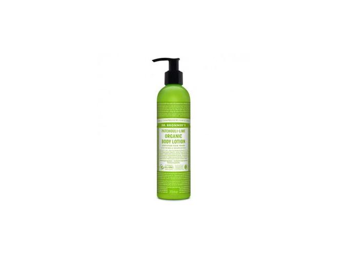 drbronners organic body lotion patchuli lime telove mlieko paculi limetka