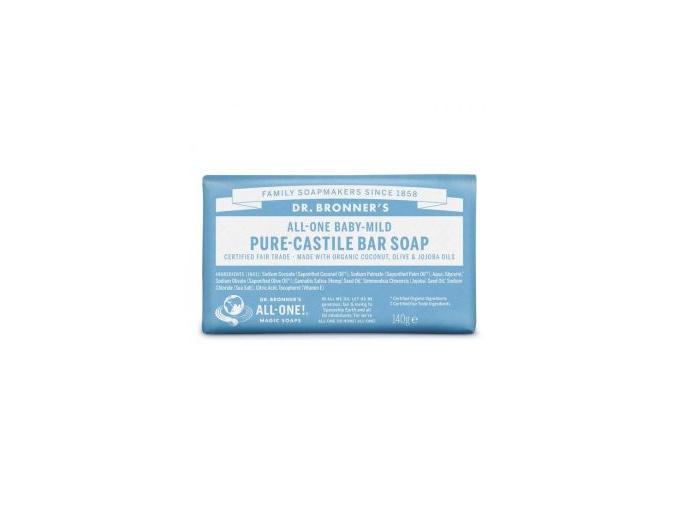 drbronners pure castile soap baby mild tuhe kastilske mydlo detske jemne