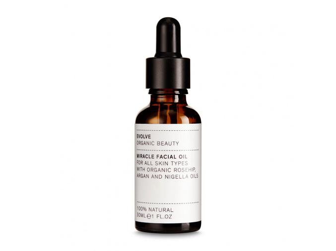 evolve miracle beauty oil olej na tvar miracle 30 ml