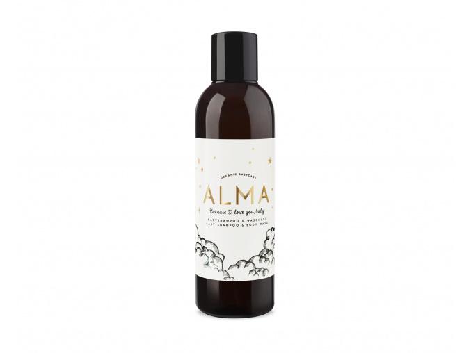 alma shampoo and wash gel sampon a gel na umyvanie