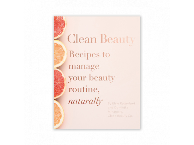 clean beauty book kniha