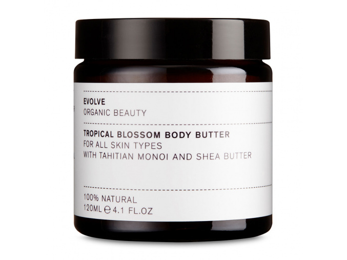 evolve tropical blossom body butter telove maslo 120 ml