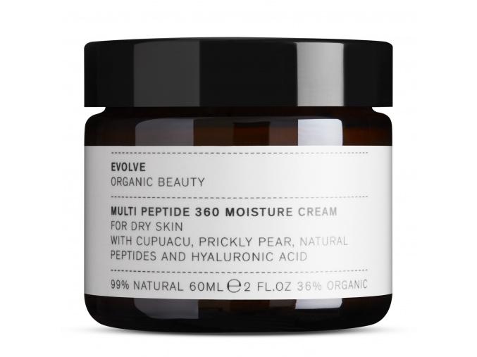evolve multi peptide 360 moisture cream multi peptidovy krem na tvar 60 ml