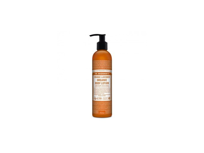 drbronners organic body lotion orange lavender elove mlieko pomaranc levandula