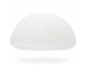 konjac sponge facial pure white spongia na tvar biela detail