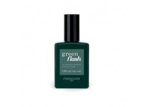 manucurist green flash top coat vrchna vrstva na gelovy lak na nechty