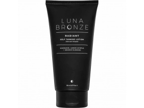 luna bronze radiant self tanning lotion samoopalovacie telove mlieko