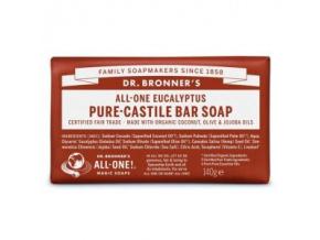 drbronners pure castile bar soap eucalyptus tuhe kastilske mydlo eukalyptus
