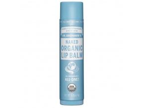 drbronners naked organic lip balm neparfemovany organicky balzam na pery