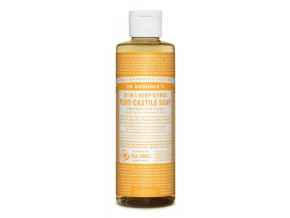 drbronners pure castile soap citrus tekute kastilske mydlo citrus