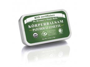 drbronners organic body balm patchouli lime organicky telovy balzam paculi limetkovy big