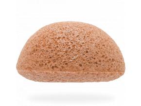 konjac sponge facial chamomile spongia na tvar kamilka detail