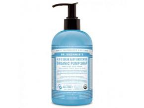 drbronners organic pump soap sugar baby mild tekute mydlo shikakai detske jemne