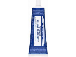 drbronners all one toothpaste peppermint zubna pasta matova