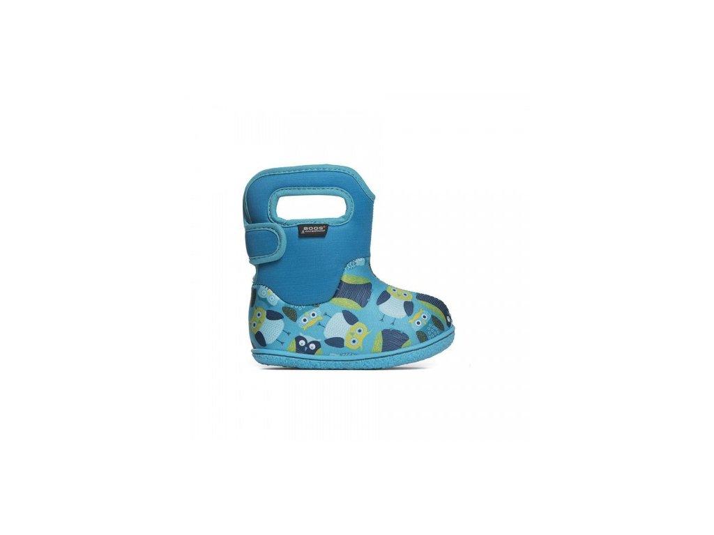 Bogs Classic Owls Blue Multi - Aner Shoes Barefoot 5878c9d7a7