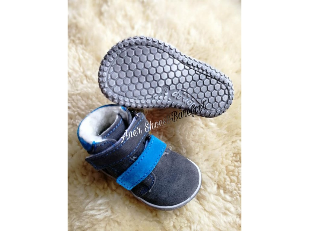 e317326e7952 Jonap barefoot B4 - šedá tyrkys - Aner Shoes Barefoot