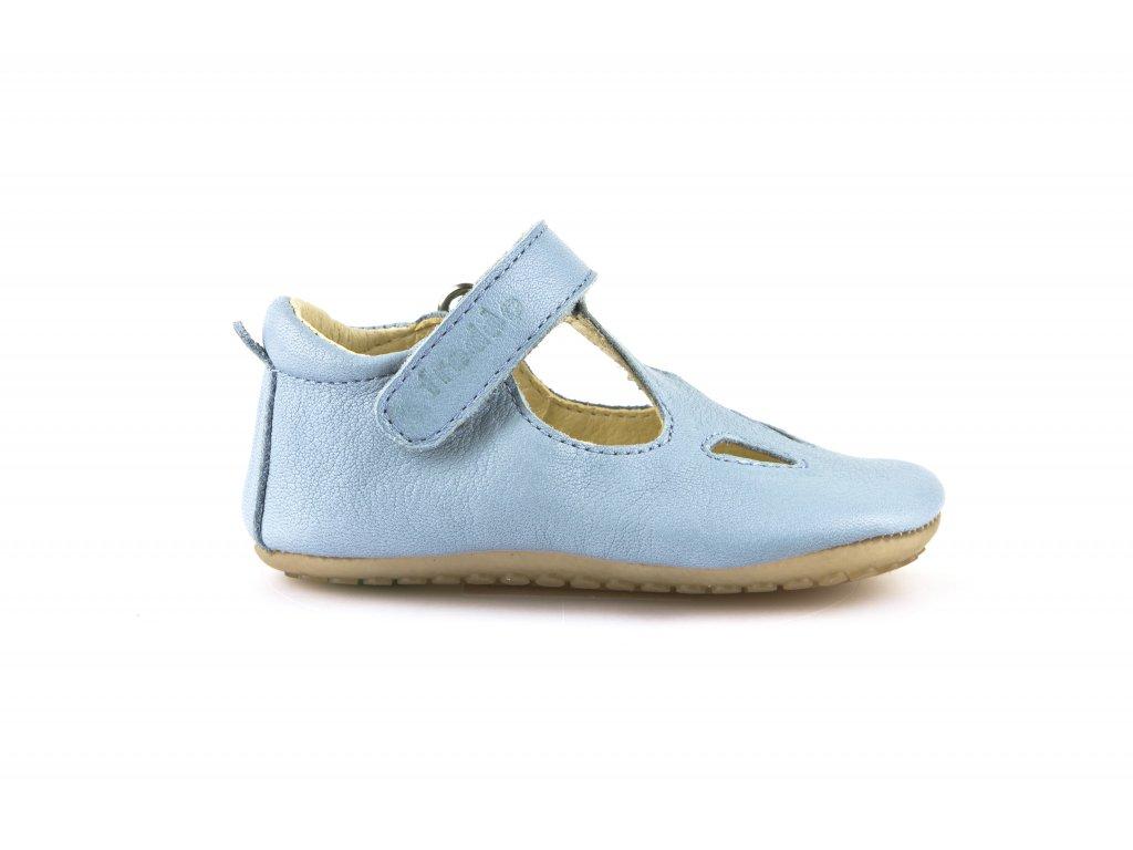 d1ecb83ab709 Froddo Prewalkers sandálky světle modré - Aner Shoes Barefoot