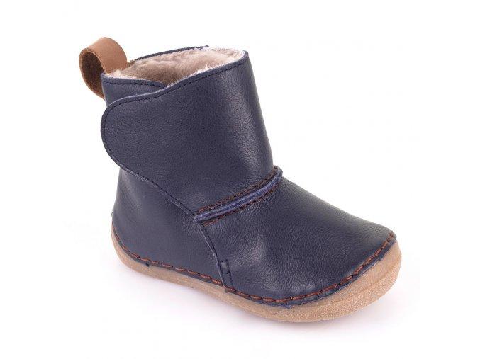 Froddo zimní obuv tmavě modré kožešina