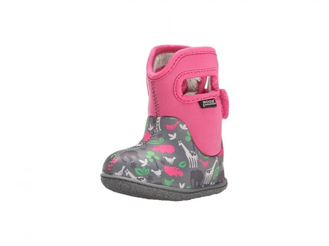 Bogs Classic Animals - Pink Multi
